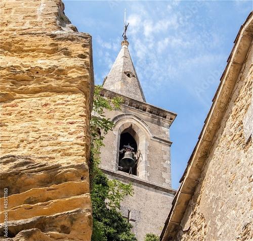 Eglise typique en Provence, France