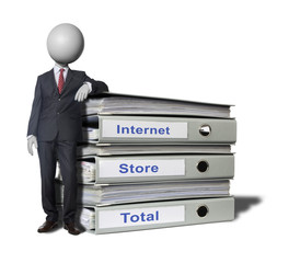 internet-store sales Headman concept