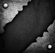 cracked iron plate