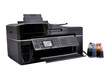 copier and continuous ink supply system