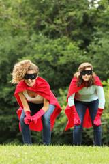 super heros team girls