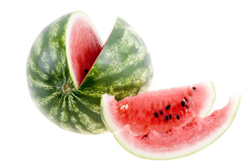 Watermelon isolated