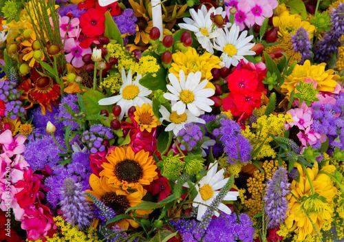 Bunter Blumenhintergrund