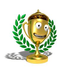 Trophée 3d