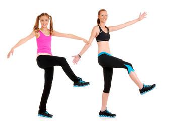 Zumba fitness dance move