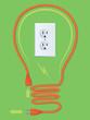 Extension Cord Light Bulb