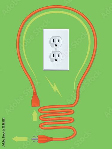 Extension Cord Light Bulb