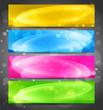 Color web banner