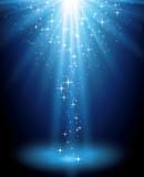 Fototapeta gwiazda - światło - Tła