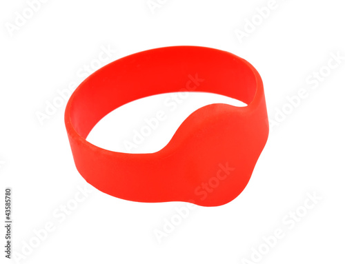 red RFID bracelet
