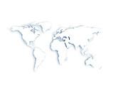 Fototapete Erde - China - Landkarte / Globus