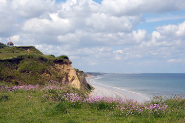 Coastal path above Sheringham in North Norfolk