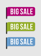 Modern  label – big sale
