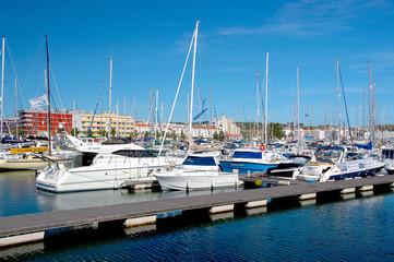 Yachthafen von Lagos, Portugal