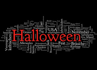 Tagcloud Halloween