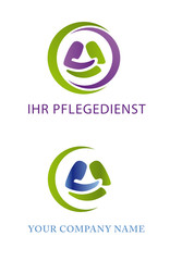 vector logo pflegedienst
