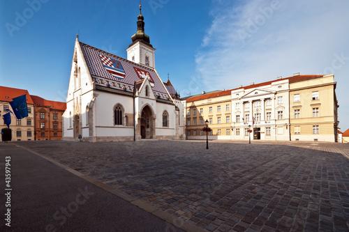 St.Markus Kirche Altstadt Zagreb