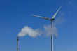 Fossile fuel vs Wind turbine