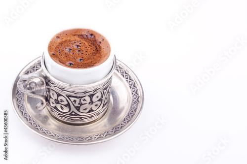 Fotobehang Cafe turkish coffee