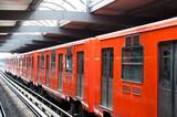 Fototapeta gród - pociąg - Metro