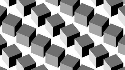 Op-Art Rotocubes Loop