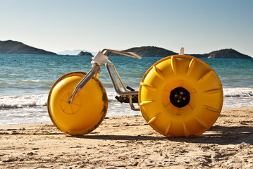 Yellow Beach Tricycle