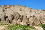 amazing view of Ihlara Valley in Cappadocia