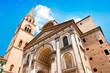Famous Basilica di Sant'Andrea in Mantua, Lombardy, Italy