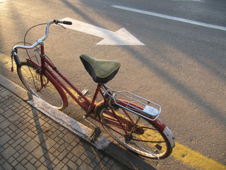 Defiant bicycle starts Egyptian revolution
