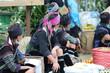 Mongs noires au marché