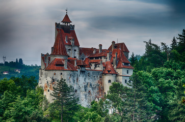 Bran Castle, landmark in Romania
