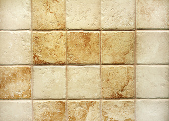 Texture of tiles