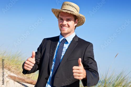 erfolgreicher businessmann