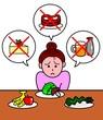 厳しいダイエット