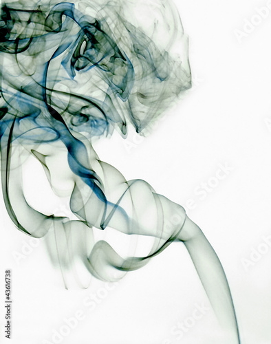 Spirals of smoke