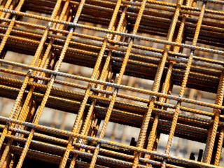 Reinforcing bar mesh