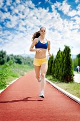 Runner - woman running