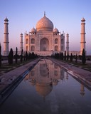 Taj Mahal at sunset, India © Arena Photo UK