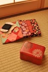 昭和のお針箱