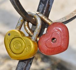 two hanging lock