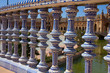 details of Plaza de España, Seville, Spain
