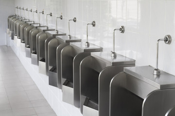 Pattern of urinals for men
