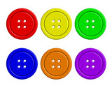 Vector illustration of colorful buttons