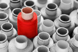 Roter Blickfang, vielseitig einsetzbares Konzept