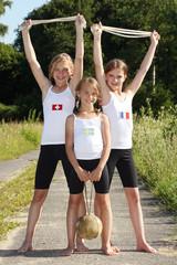 junge Sportlerinnen