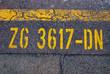 Markierung Straße
