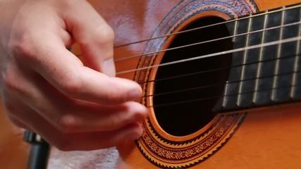 Accustic Guitar Player