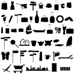 stuff black vector silhouette and more