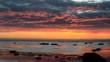 Sonnenuntergang in Südnorwegen (Original)