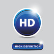 HD - high definition button